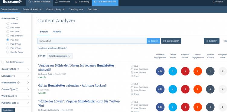 buzzsumo_tool für recherche