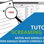 Video: Screaming Frog Tutorial – Daten aus Google Analytics oder Google Search Console ausgeben