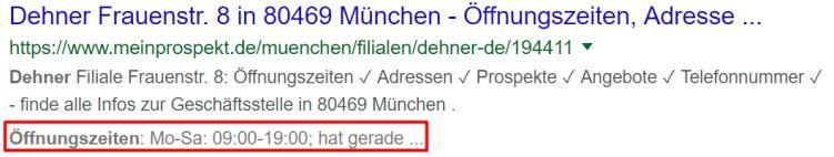 snippet meinprospekt.de