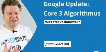 Video: Google Update: Was ist beim Core 3 Algorithmus Update vom 15. März passiert?