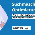 Video: Wie werden Suchanfragen bei Google berechnet?