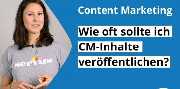 Video: Wie oft solltest Du CM-Inhalte veröffentlichen?