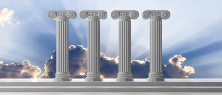 seo funktioniert mit 4 säulen