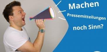 Video: Machen Pressemitteilungen aus SEO-Sicht noch Sinn?