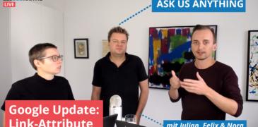 """Video: rel=""""sponsored"""" und rel=""""ugc"""" als neue Link-Attribute – Was ändert sich?"""