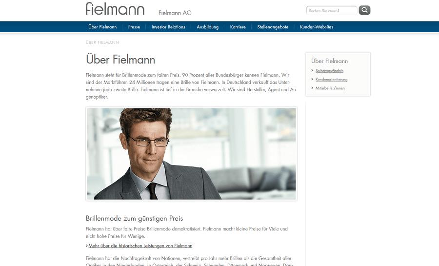 USP-Beispiel Unternehmen Fielmann