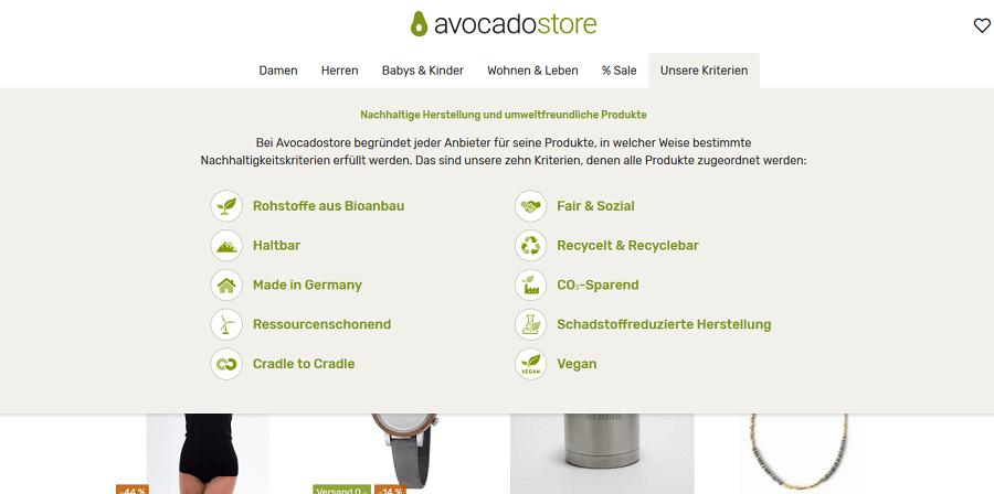 USP Beispiele avocadostore