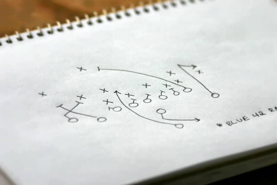 SEO-Strategie: Spielzug auf Papier