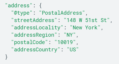 Structured Data Lokale Suche