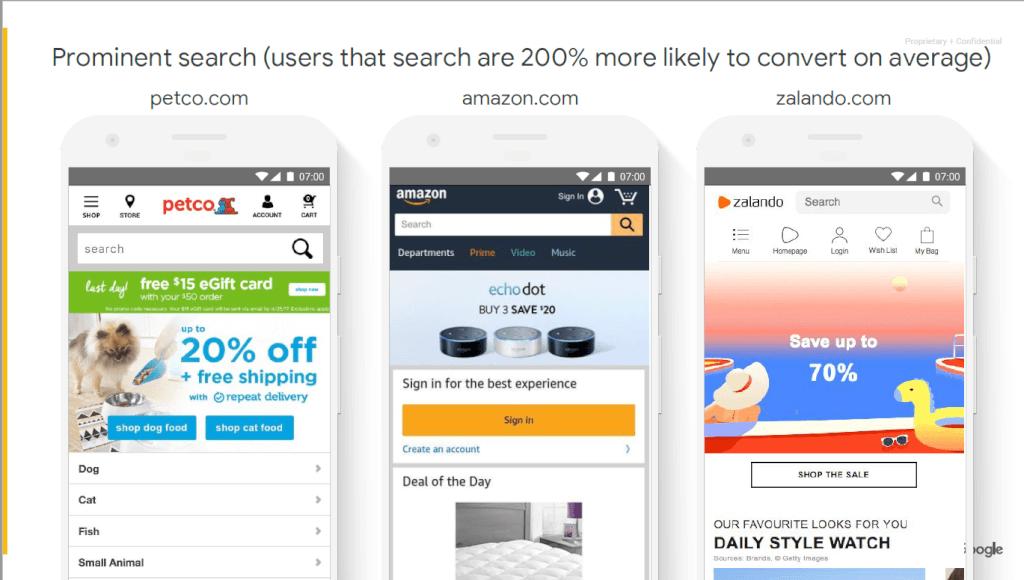 UX Playbook zur Suche