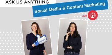 Ask us Anything: Content Marketing und Social Media I