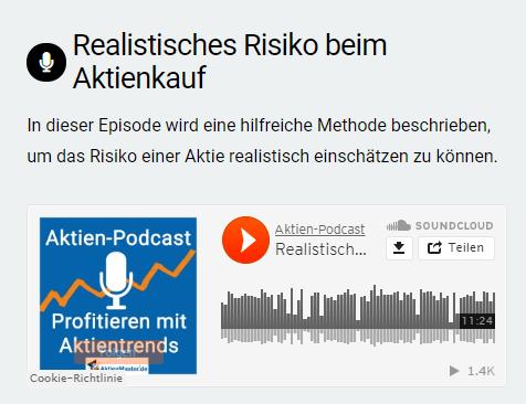 eingebettete Podcast-Folge