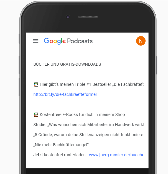 Google Podcasts für Online Marketing nutzen