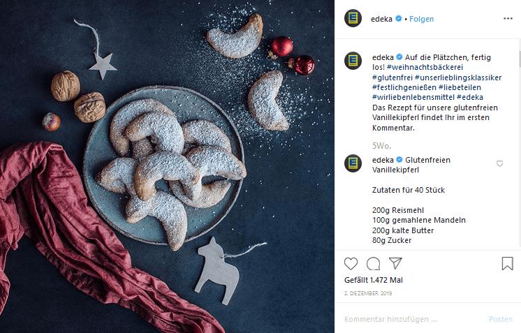 EDEKA Instagram-Marketing-Kampagne 2019
